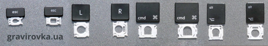 Кнопки для Apple MacBook