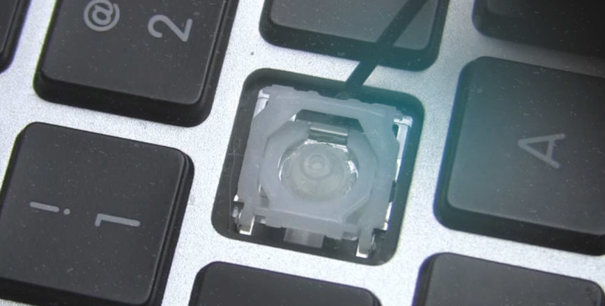 Замена кнопок на MacBook