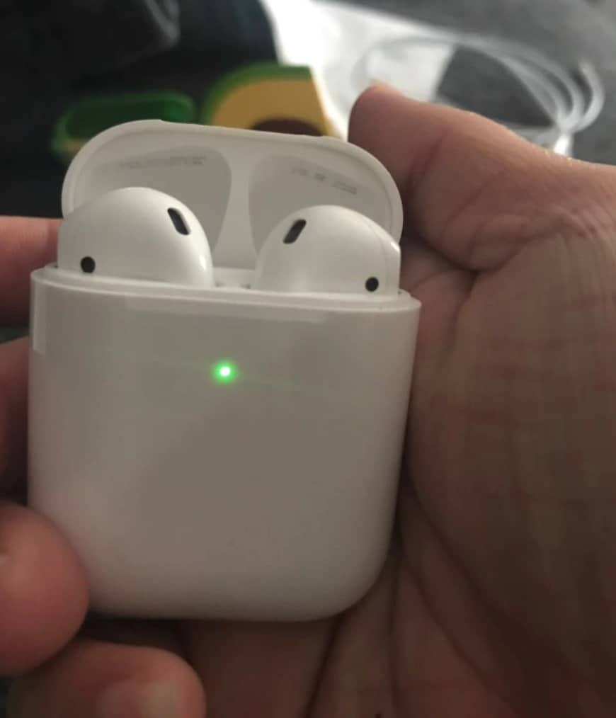 Best fake apple airpod replica top cheap aliexpress airpod clone airpod best quality 1to1 green light outside i200 Airpod-replica
