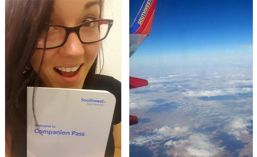 chase southwest visa and southwest companion pass