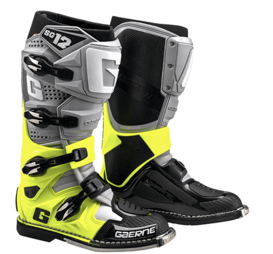 Gearne SG 12 dirt bike boots
