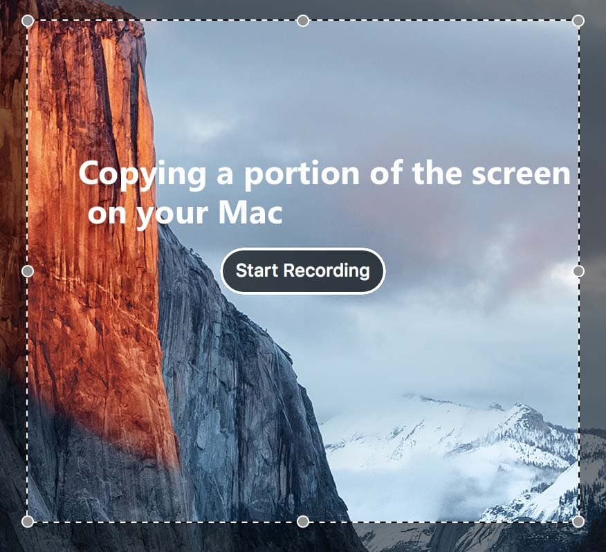how to copy a portion of the screen on mac - starters guide