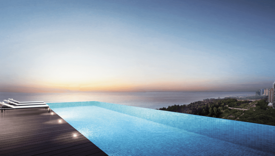 coastline-residences-infinity-pool-singapore