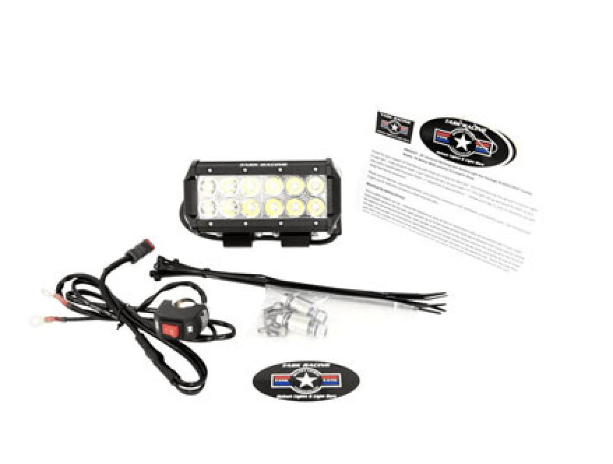 hardwire LED light bar for dirt biking
