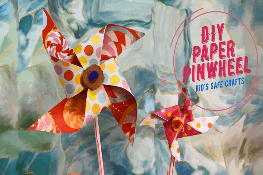 Featured Image DIY Paper Pinwheel