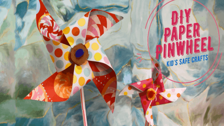 Featured Image DIY Paper Pinwheel