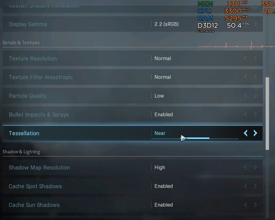 warzone on budget pc default settings