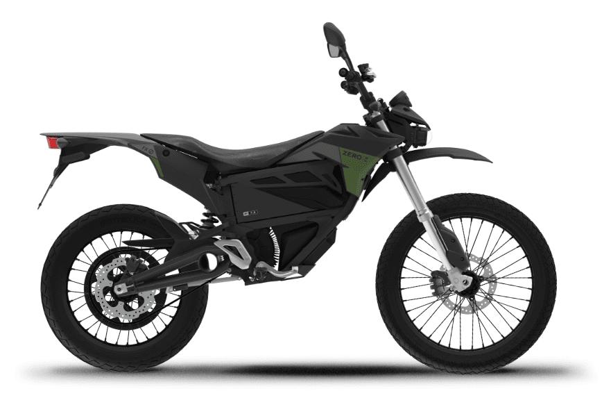 2021 Zero FX electric dirt bike