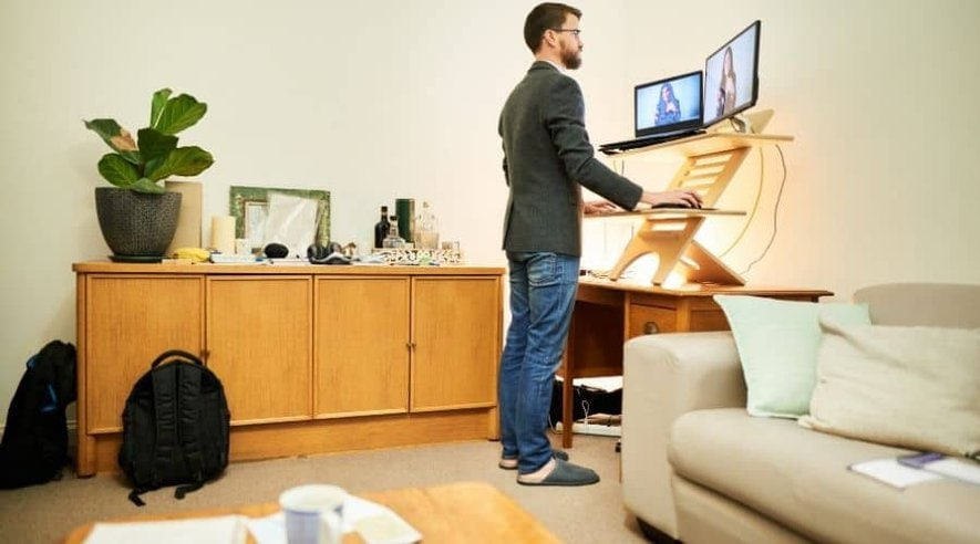 Best Standing Desk with Storage