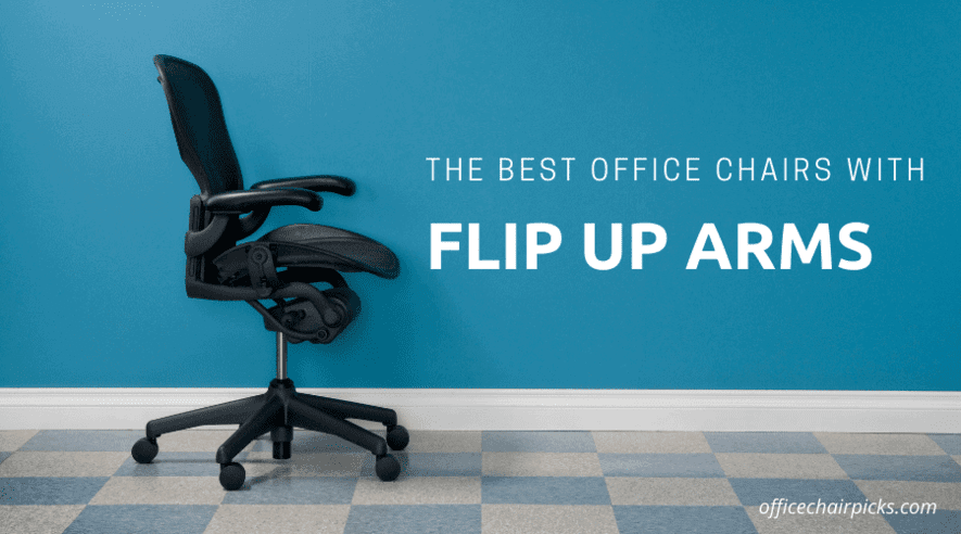 Office Chairs With Flip Up Arms