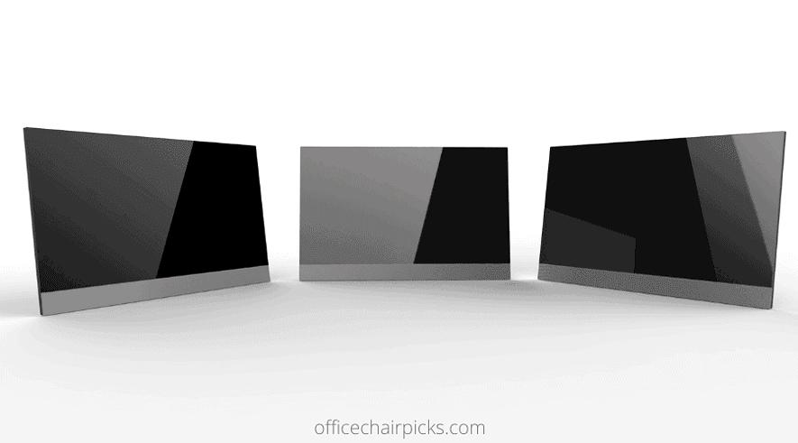 Triple Monitor Standing Desks