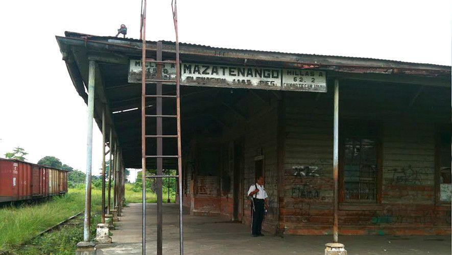 Antigua estación de Mazatenango