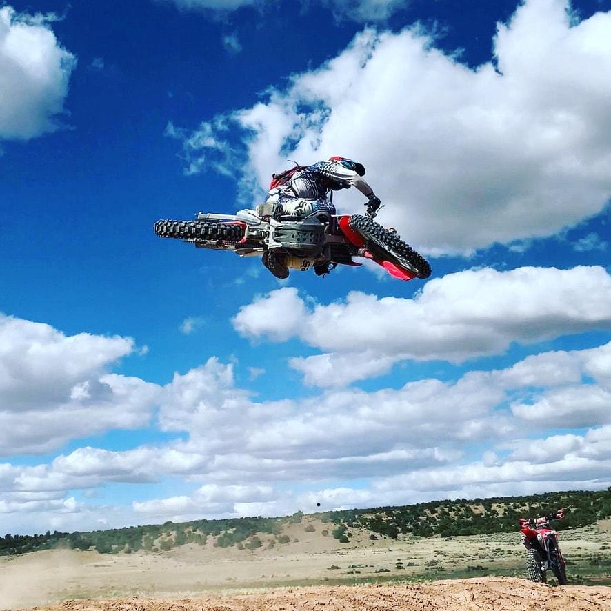 Adult Motocross dirt bike