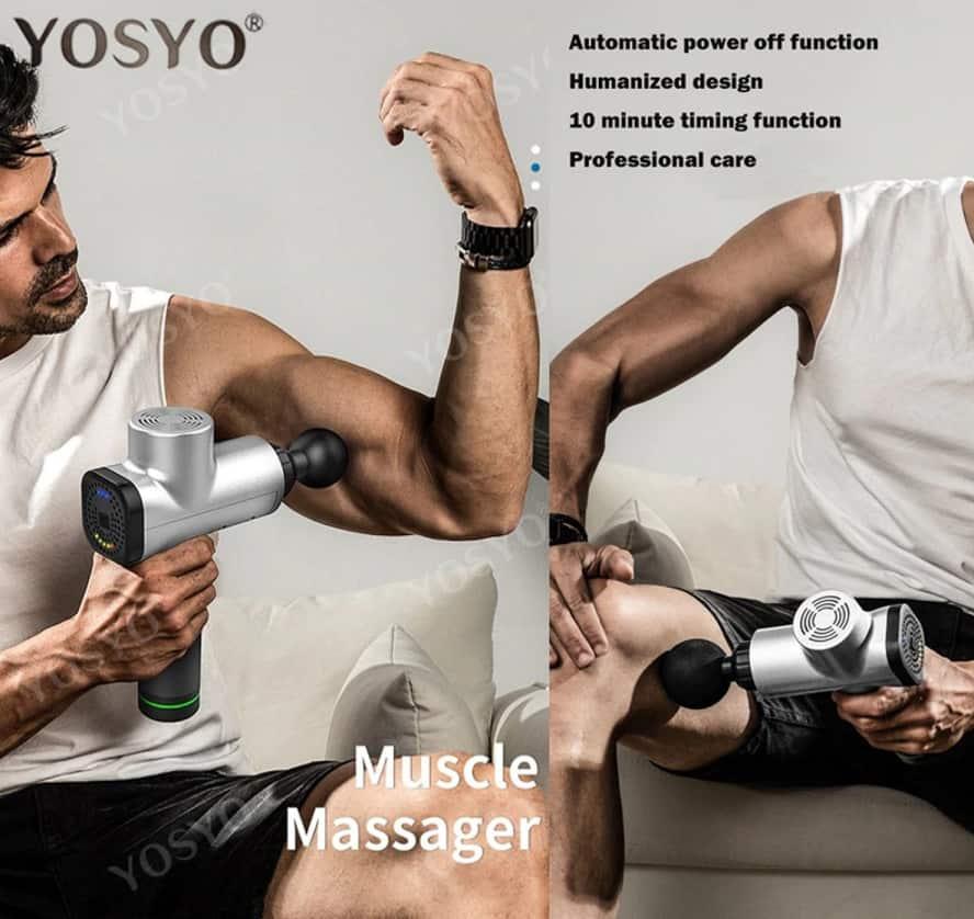 Alternative to Theragun Cheap Massage Gun Fake percussion massage gun AliExpress China Wholesale Yosyo Muscle Massager 1