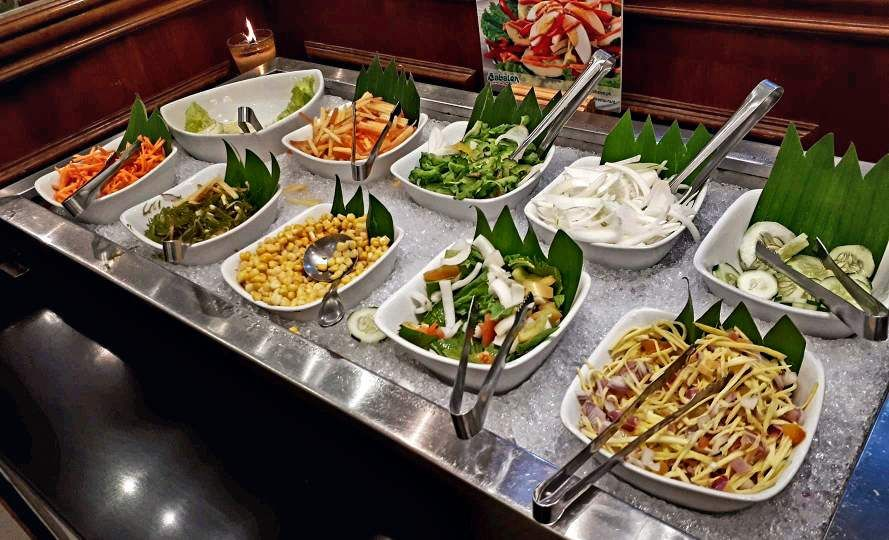 Salad Section in Cabalen Buffet
