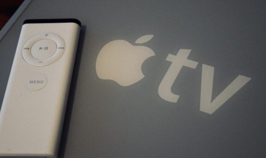 Apple TV 1. Generation in 2020