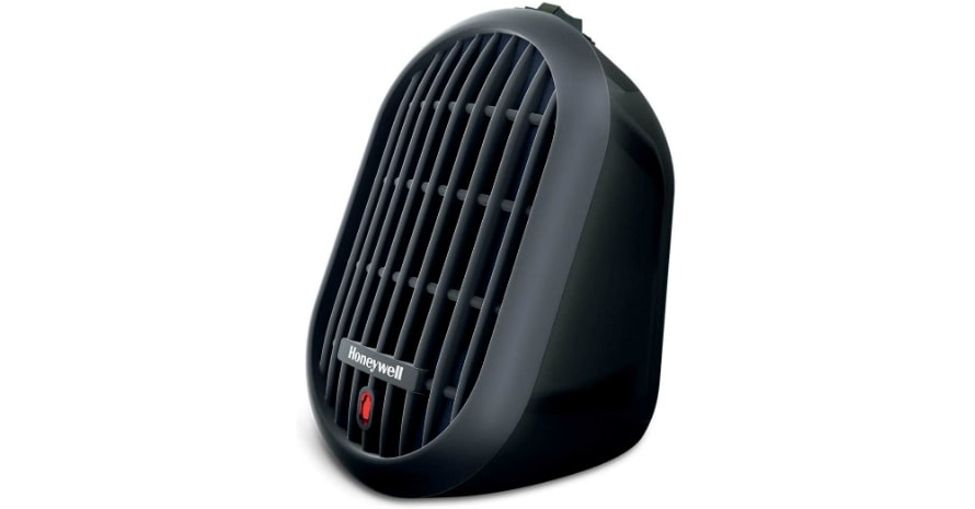 Honeywell HCE100B Heat Bud Ceramic Heater Black