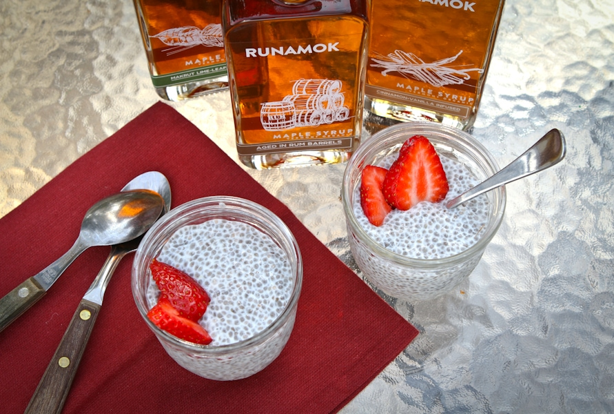 Chia Pudding with Maple Syrup by Runamok Maple