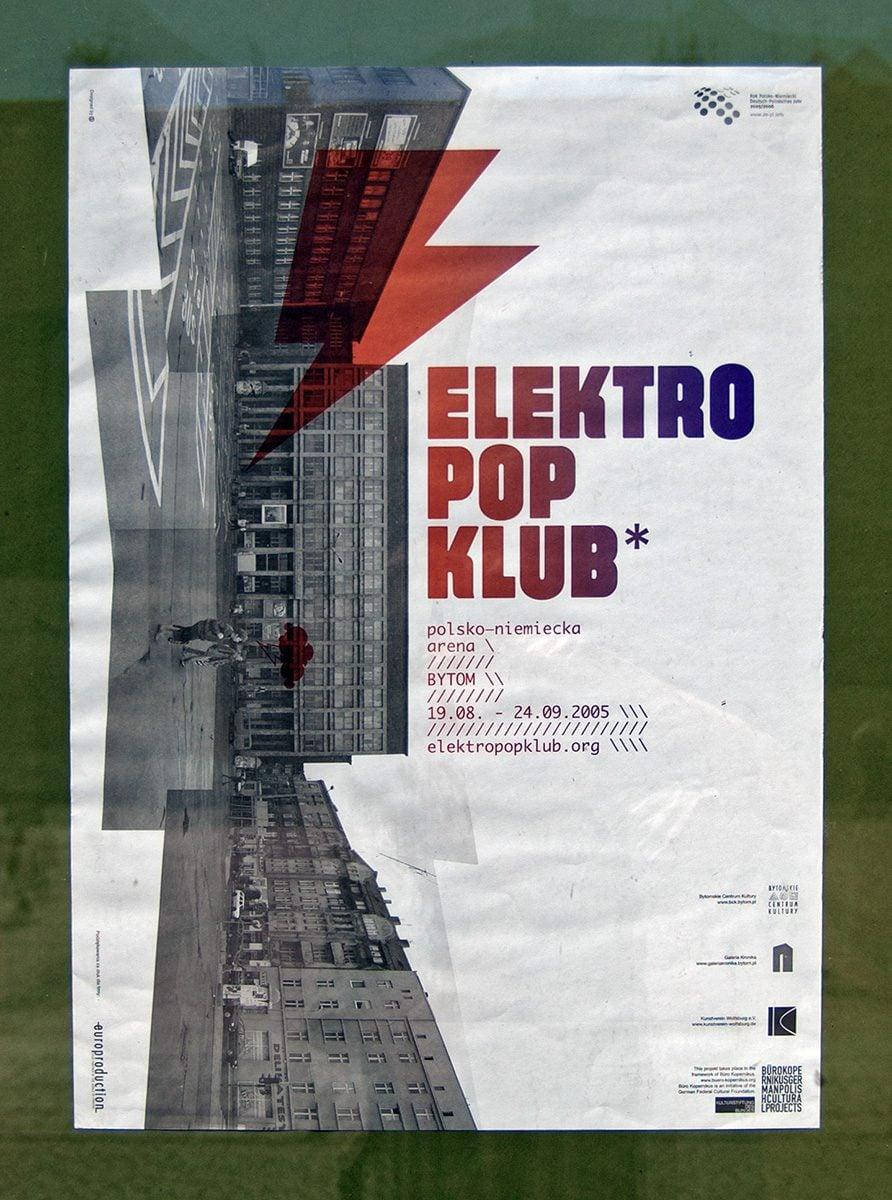 Elektro Pop Klub Plakat