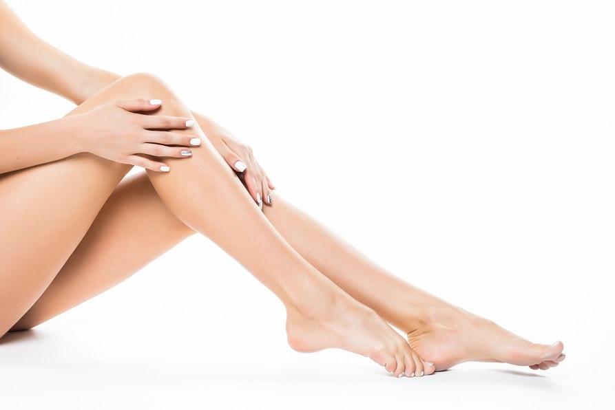 bacak inceltme estetiği kadın bacağı