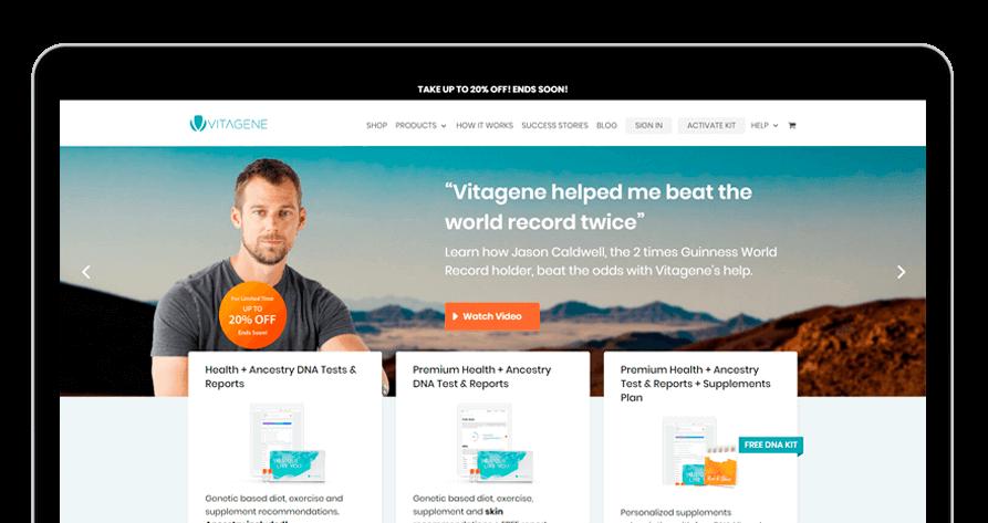 vitagene-website-mockup