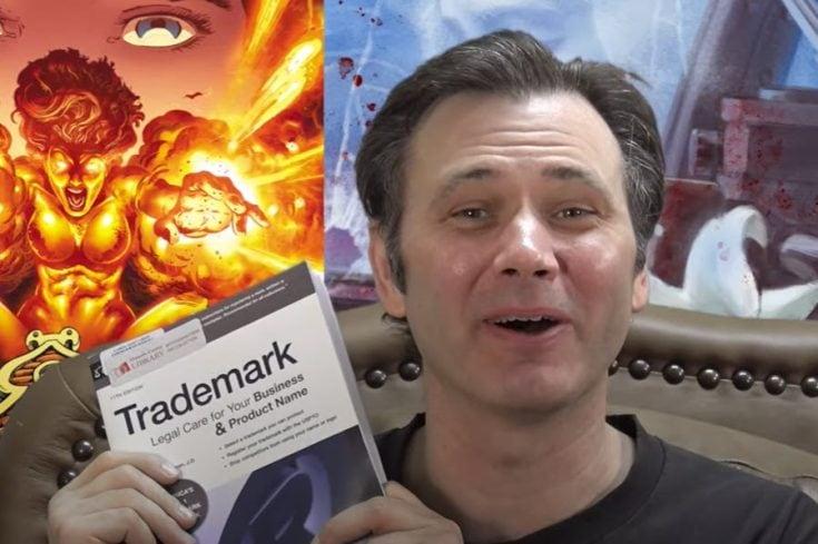 Preston Poulter obtains provisional trademark for the word 'Comicsgate' - BENT CORNER