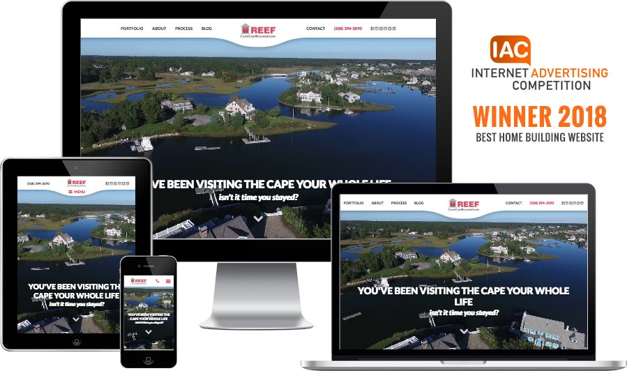 Cape Cod builder website