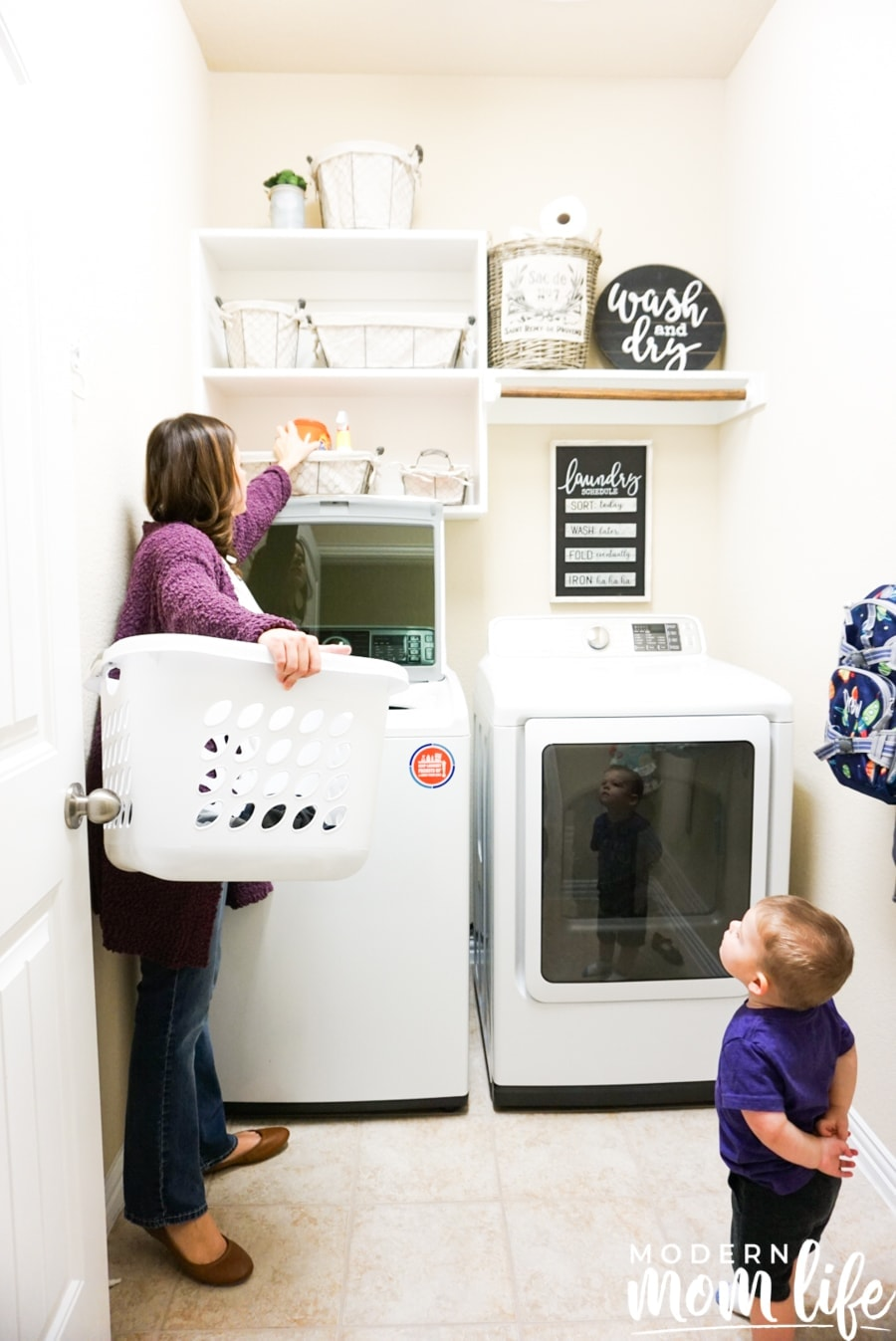 laundry room safety tips