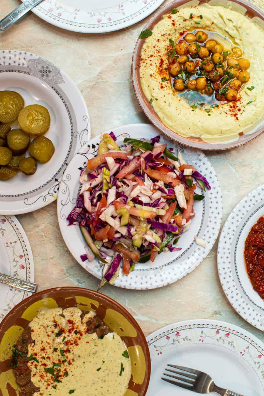 hummus at Abu Shukri, Jerusalem