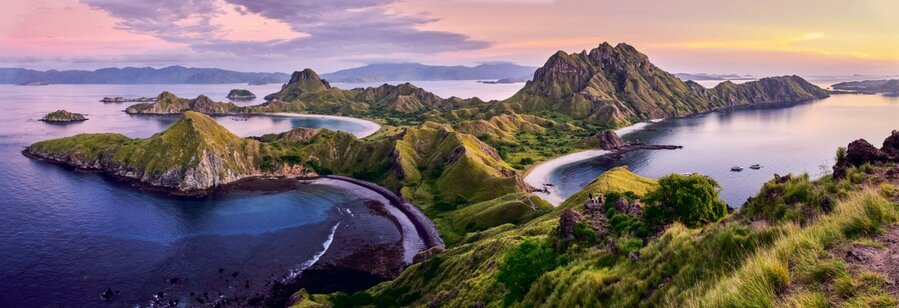 beautiful hills of flores