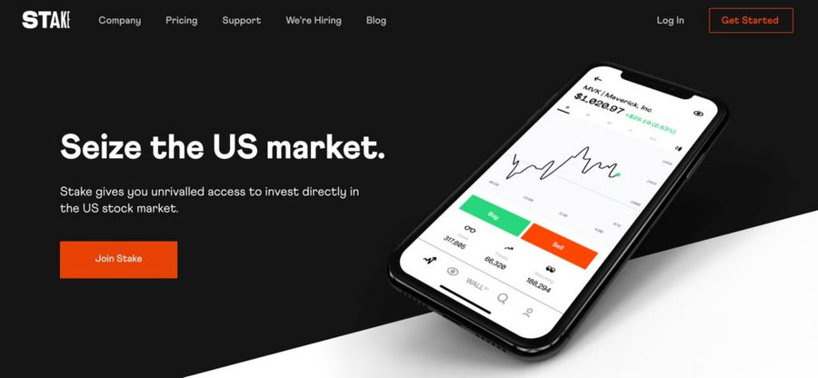 Stake Investment App review