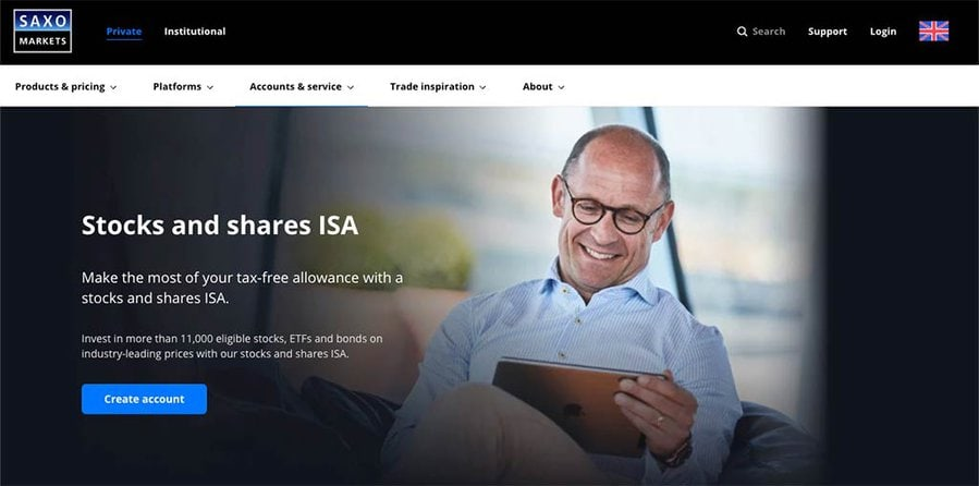 Saxo Markets ISA Review
