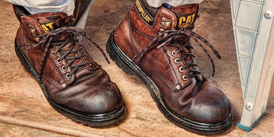 darken leather boots