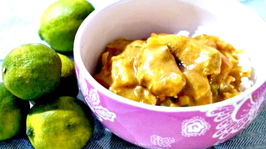 easy chicken curry, gluten free