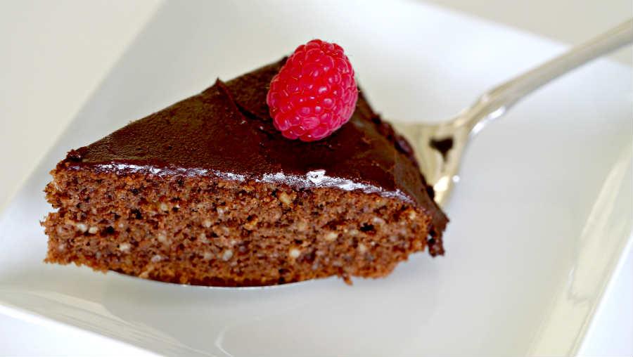 mocha walnut coffee cake, dairy-free
