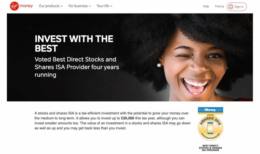 Virgin Money Investments ISA Review