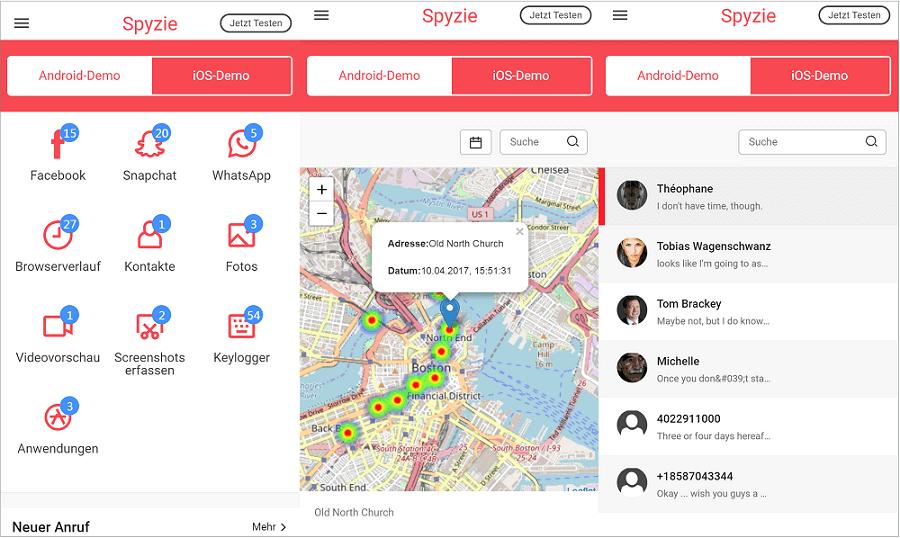 Spyzie Screenshot