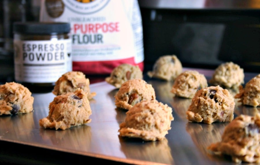 Espresso Coffee Bean Cookies | Life, Love, and Good Food