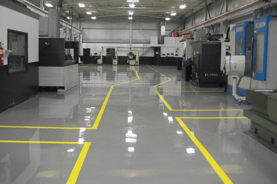 полимерный бетонный пол