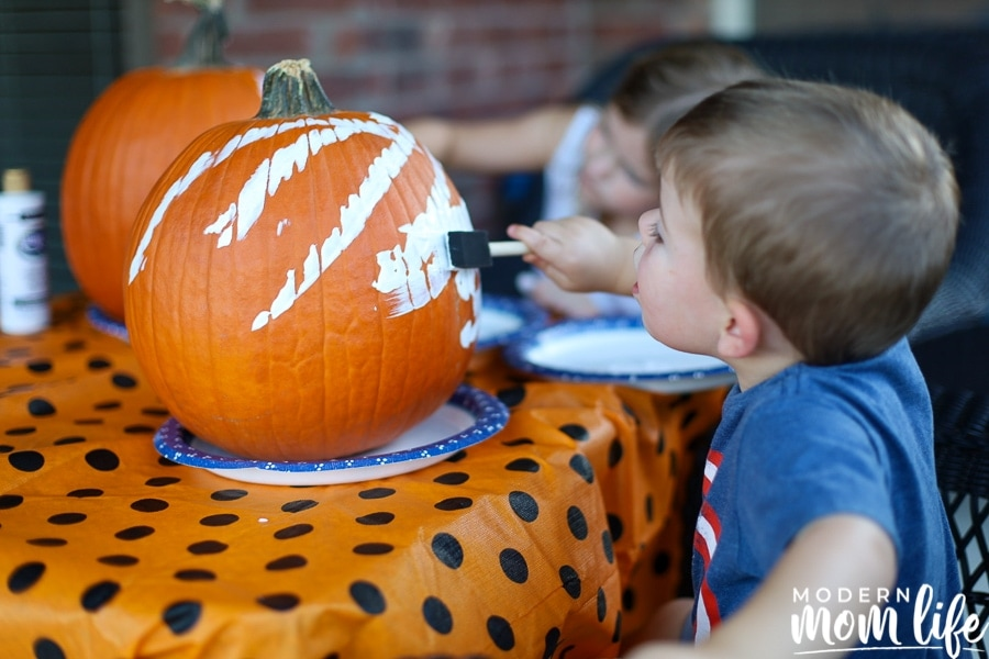 no carve pumpkin for toddlers