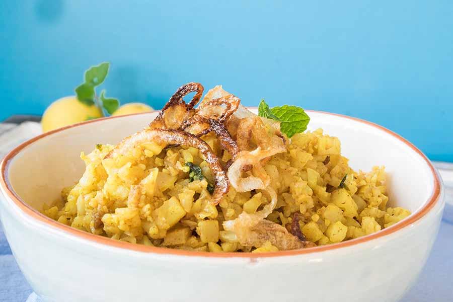 biryani cauliflower recipe, keto