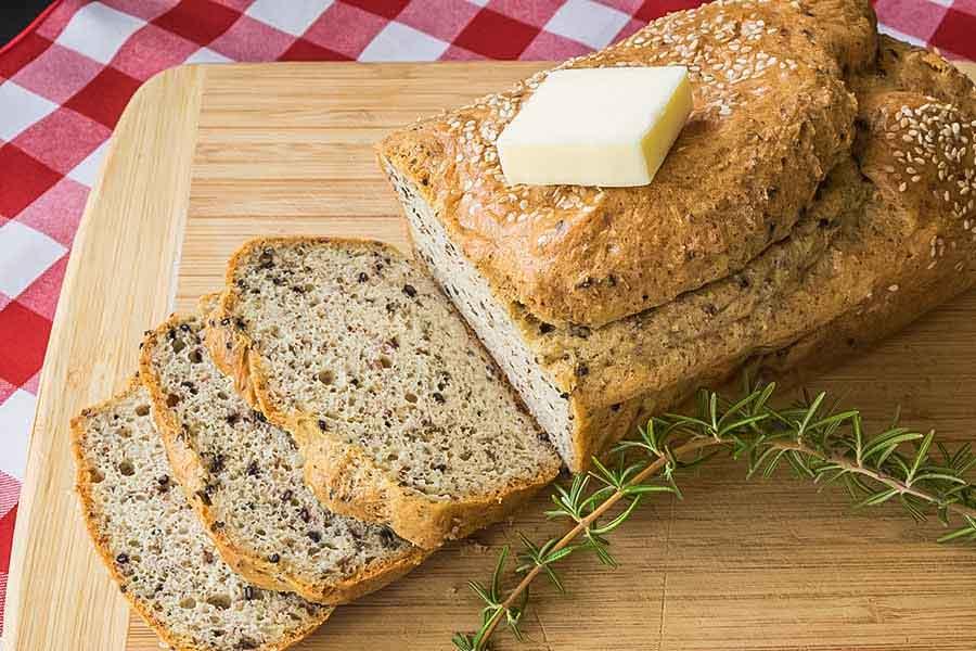 keto multi seed bread