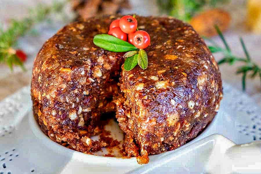 Christmas cake, gluten free
