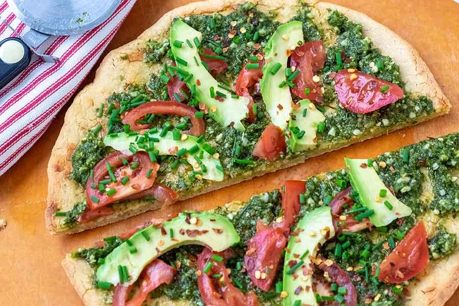 pizza dough, gluten free