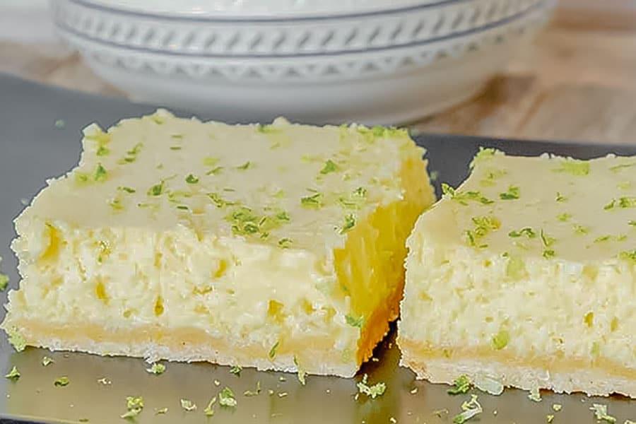 key lime squares, gluten free