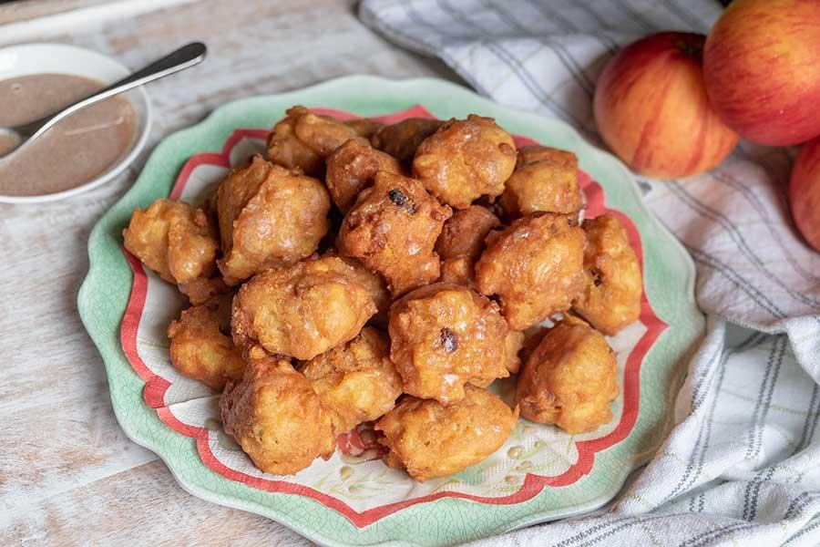 apple fritters gluten free
