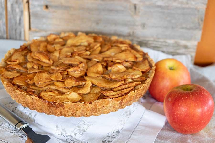 apple tart, gluten free