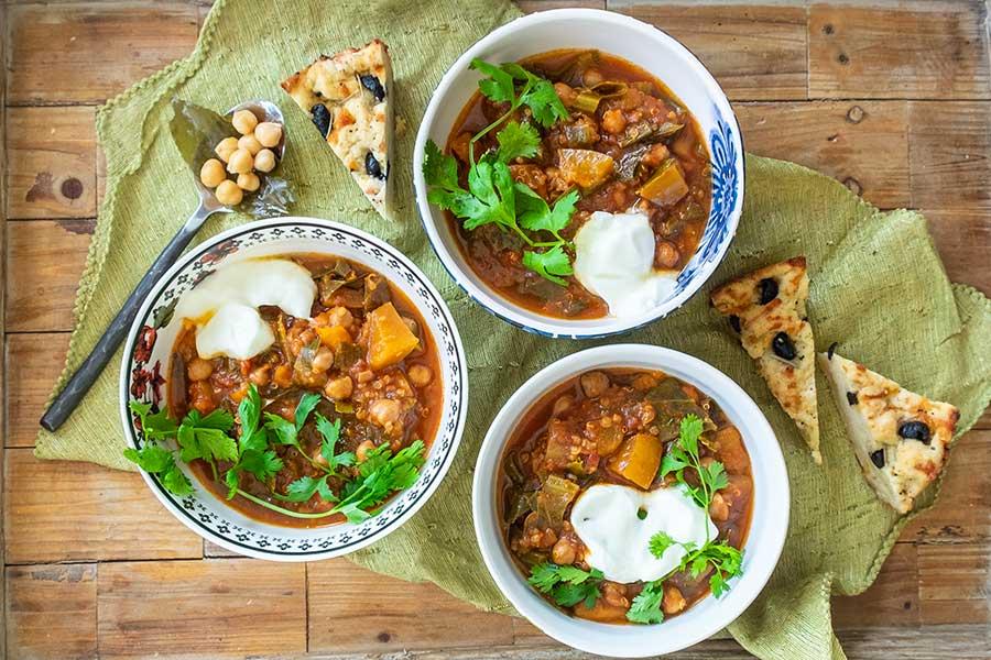 chickpea chili instant pot