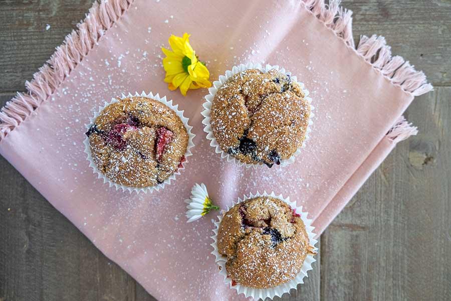 berry muffin gluten free