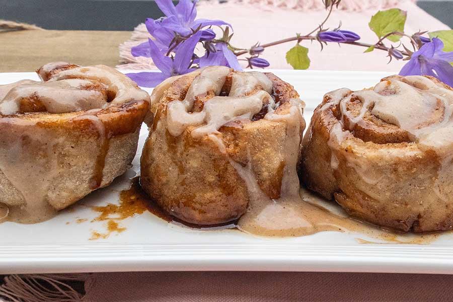 gluten-free honey cinnamon buns